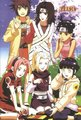 Anko, Kurenai, Ten Ten, Sakura, Ino and Hinata