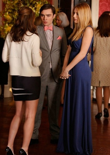 Blair Chuck and Serena