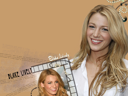 Blake Lively wallpaper containing a portrait called Blake :)