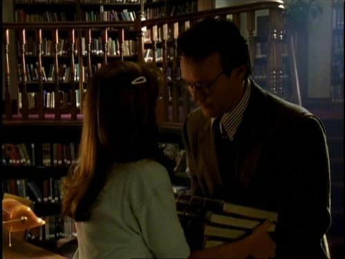 Buffy and Giles (: