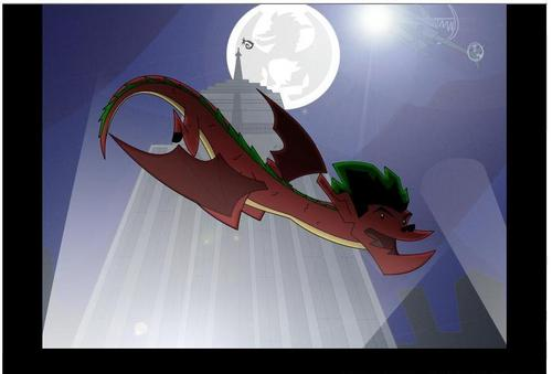American Dragon: Jake Long achtergrond called Catch Me If u Can
