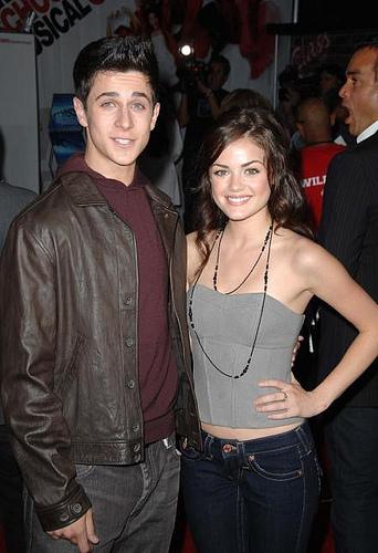 David Henrie & Lucy Hale High School Musical 3