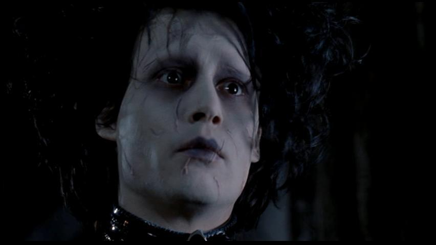 a synopsis of the movie edward scissorhands essay Edward scissorhands film essay sample edward scissorhand, is a comedy, romance, sci-fi, which revolves around a love story between kim, a messed up all of the other main characters wore very bright clothing, to suggest that they were happy and cheerful music played a big part in the film, it.
