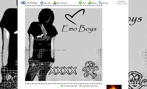 Emo wallpaper called Emo♥