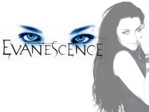 Evanescence wallpaper with a portrait titled Evanescence