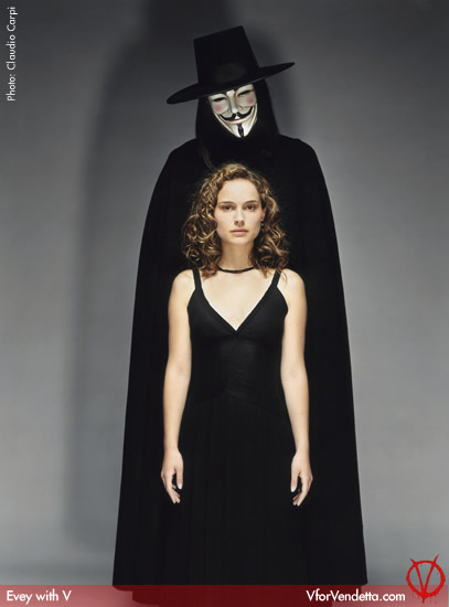 Evey / Natalie Portman (V For Vendetta)