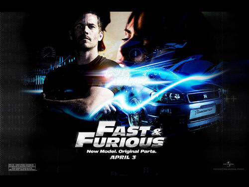 Paul Walker wallpaper called Fast & Furious