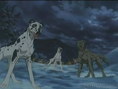 Ginga Densetsu Weed Hintergrund containing a dalmatian called From Weed