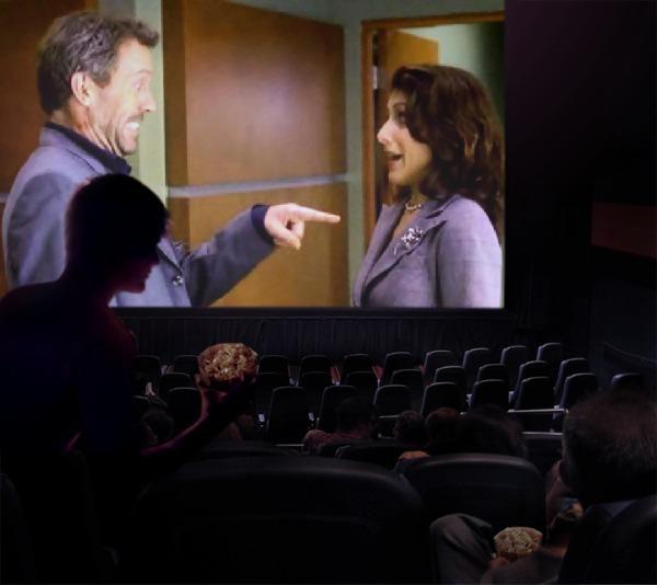 Huddy in cinema