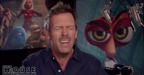 """Hugh Laurie: """"Monsters vs. Aliens"""""""