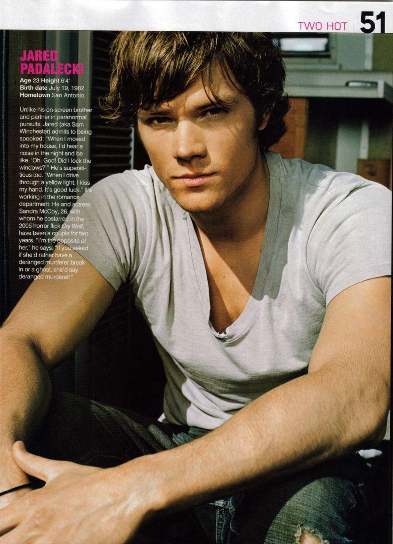 Hottest Actors images Jared Padalecki