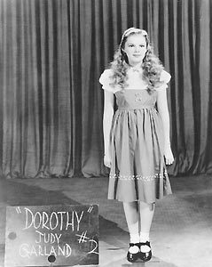 The Wizard of Oz wallpaper entitled Judy Garland at her Screen Test