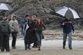 Kristen on set - twilight-series photo