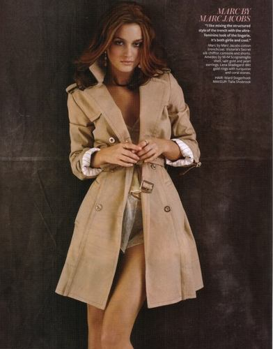 Leighton Meester's InStyle March