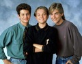 Leonardo Dicaprio,Jeremy Miller &amp; Kirk Cameron - Growing Pains - growing-pains photo