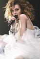 Lindsay as Madonna