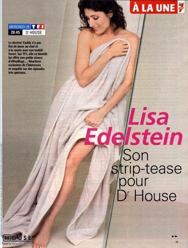 Lisa Edelstein: Télé 7 Jours