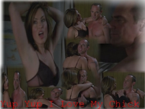 Elliot and Olivia wallpaper entitled LivEllI Love My ChickCollage