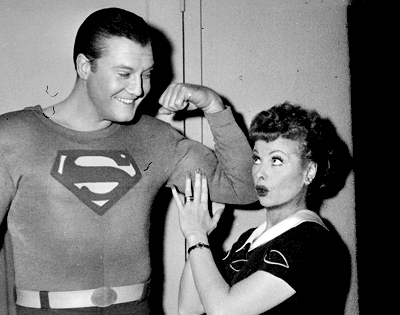 Lucy and Superman