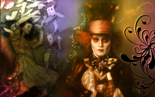 Mad Hatter wallpaper