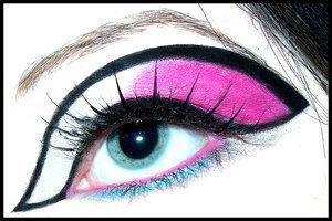 Maked Up Eye!