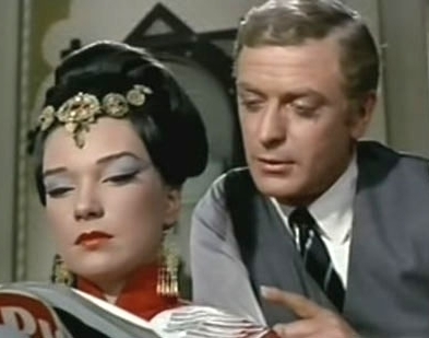 Michael Caine and Shirley MacLaine in Gambit