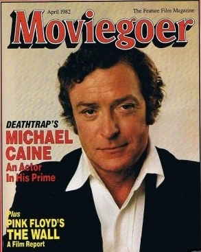 Michael Caine on the Cover of Moviegoer Magazine