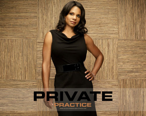 Private Practice 壁紙 with a カクテル dress entitled Naomi <3