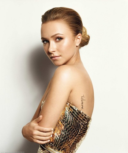 New Hayden Panettiere InStyle Photoshoot