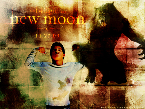 New Moon - Jacob 壁紙 -