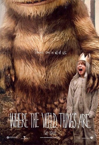 Where The Wild Things Are 壁紙 titled OFFICIAL 'Where The Wild Things Are' MOVIE POSTER!