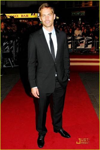 Paul @ Fast & Furious Premiere Лондон