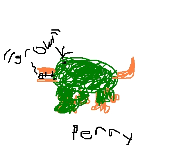 Perry - phineas-and-ferb fan art
