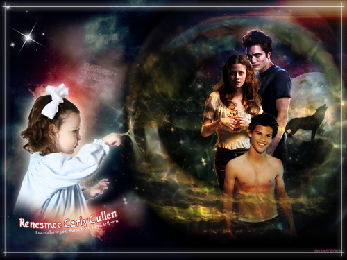 renesmee carlie cullen wallpaper probably containing animê entitled Renesmee!!!