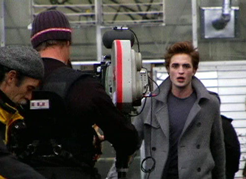 Rob On Set
