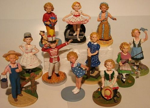 Shirley Temple Figurines