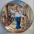 Shirley Temple in Captain January Collector Plate