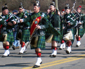 St.Patrick's Day Parade in Mystic,CT