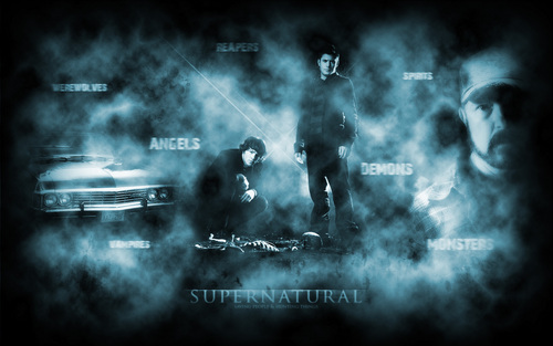 Supernatural wallpaper called Supernatural Dark Widescreen Wallpaper