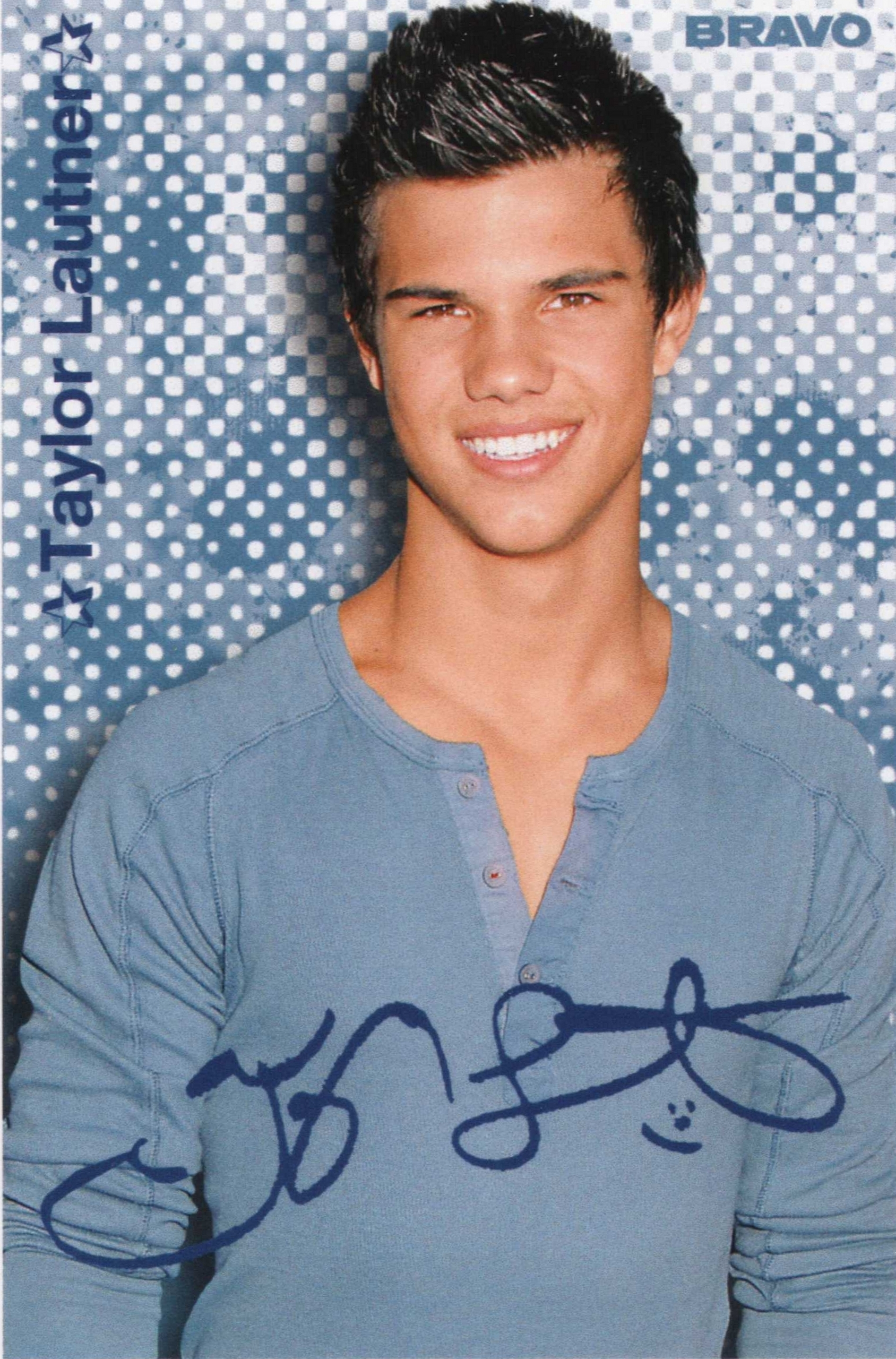 Taylor Lautner at Bravo (Germany)