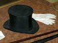 Tesla's Top Hat and Gloves