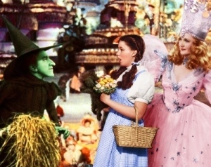 Le Magicien d'Oz fond d'écran titled The Wicked Witch,Dorothy and Glinda