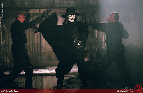 V in V for Vendetta