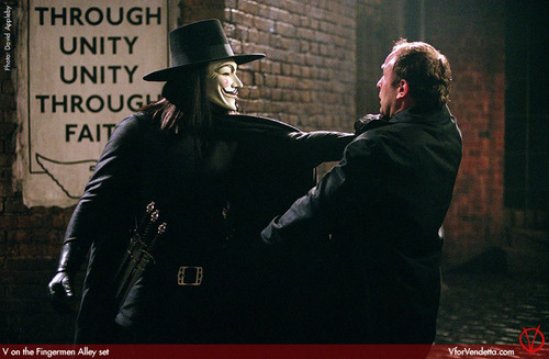 V in V for Vendetta