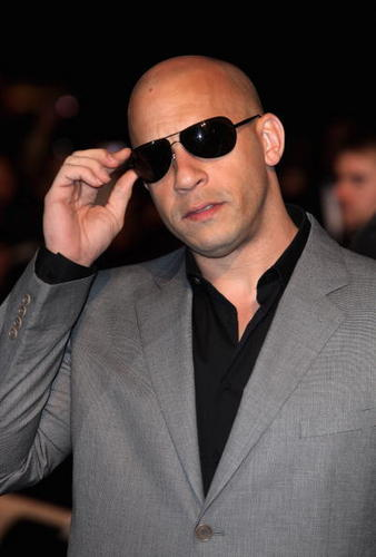 Vin At Fast And Furious 4 Premiere.