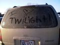 What i did to my mom's van! - twilight-series photo