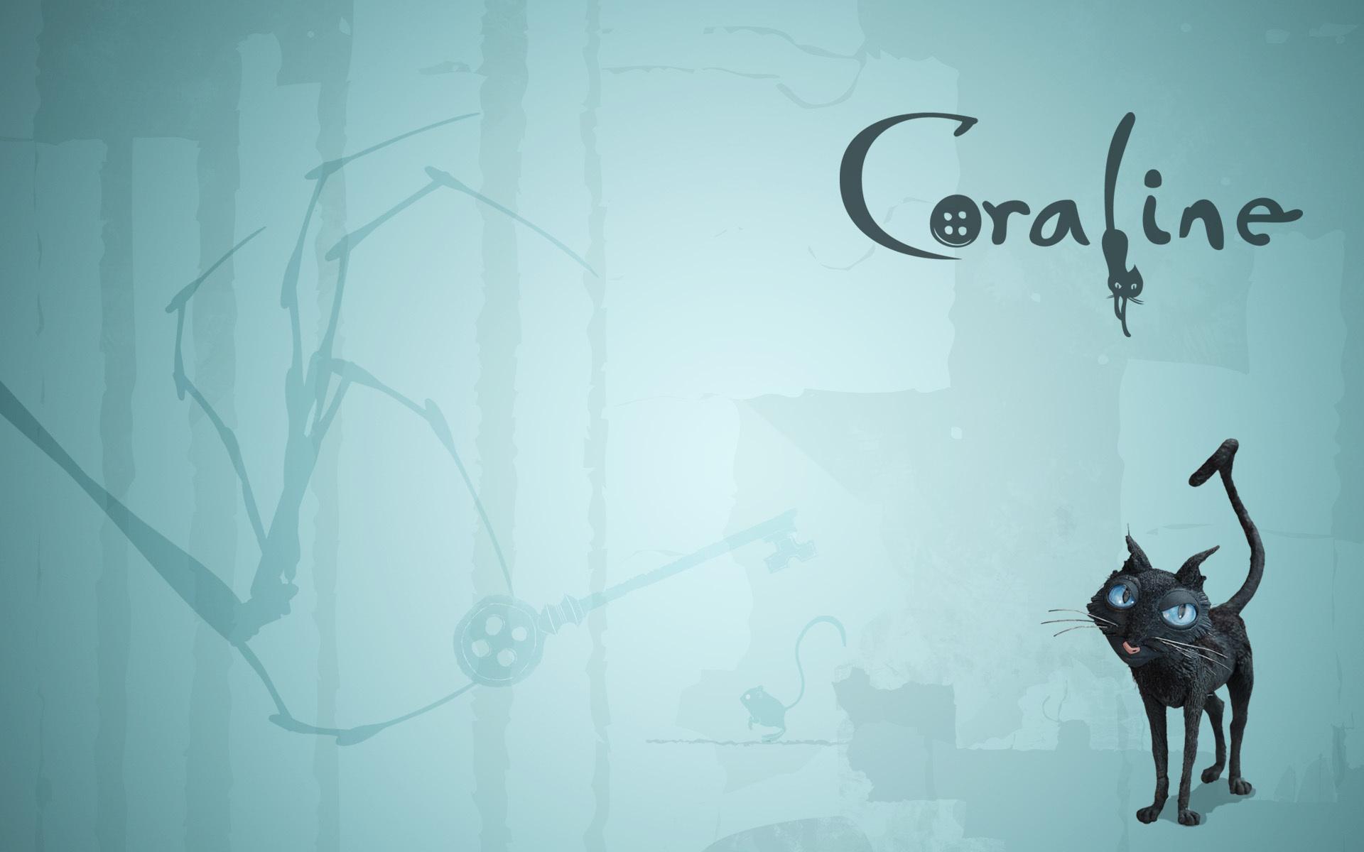 Cat Backround Coraline Wallpaper 5064797 Fanpop
