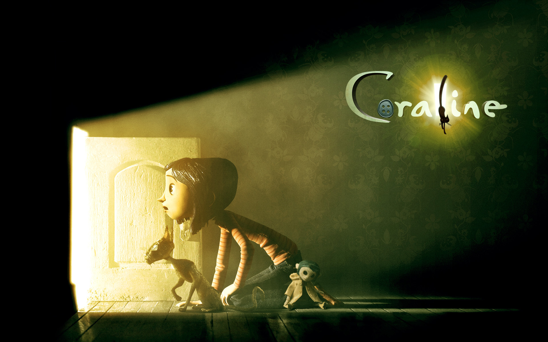 Coraline And Cat Coraline Wallpaper 5064938 Fanpop