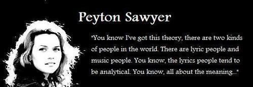 peyton sawyer