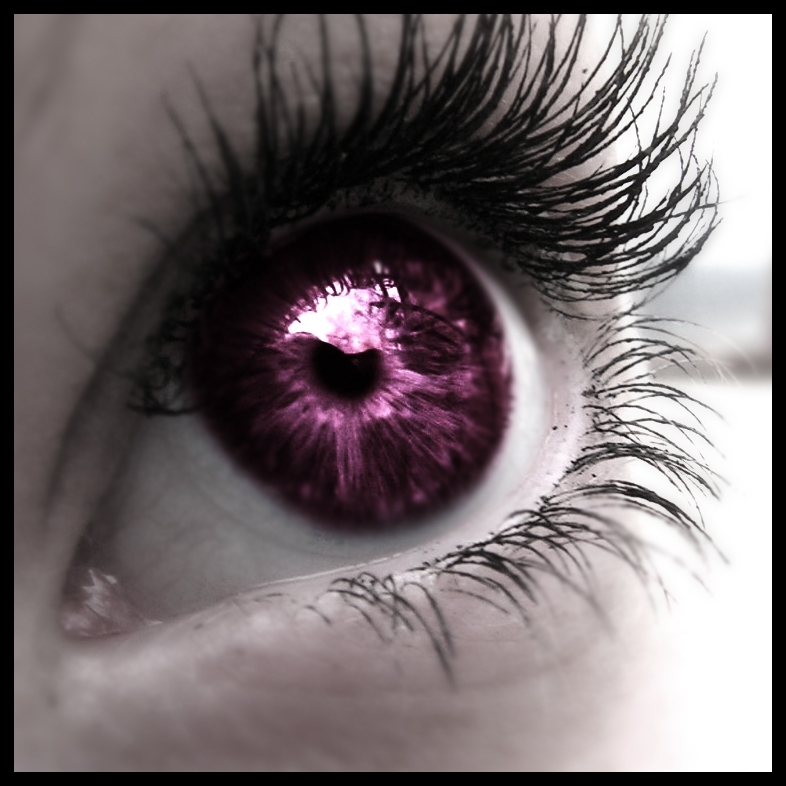 purple eyes - Eyes Photo (5092328) - Fanpop